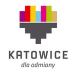 Logo Katowice pion kolor