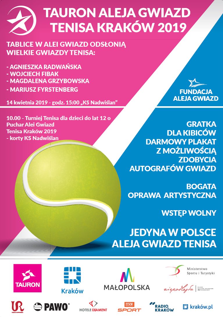 Plakat AGT z Turniejem